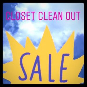 Other - Cleaning out my closet give me you best offer!